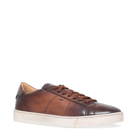 Gloria Nappa Leather Trainers, ${color}