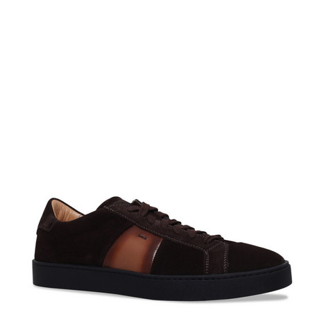 Gloria Nappa Suede Trainers, ${color}