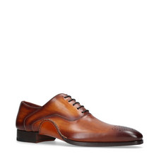 Opanka Curve Toe Punch Oxfords