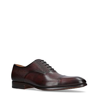 Crosshatch Leather Oxfords