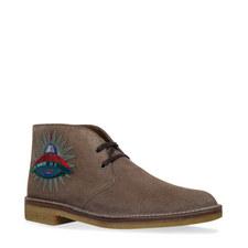 Appliqué Desert Boots