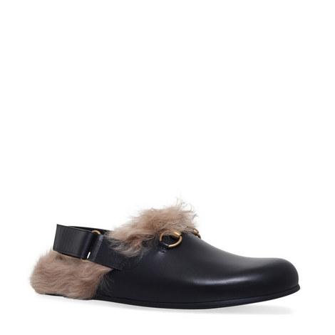 Horsebit Leather Slides, ${color}