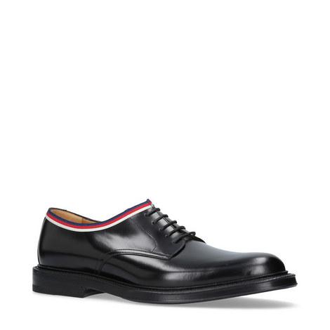 Sylvie Webbed Derby Shoes, ${color}