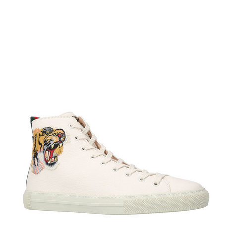 Major Cat Appliqué High Tops, ${color}