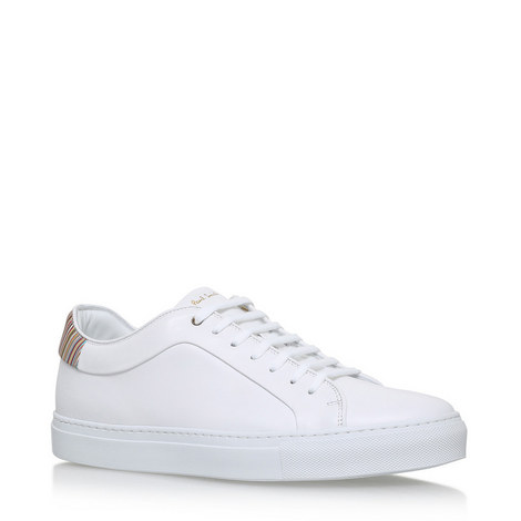 Basso Leather Trainers, ${color}