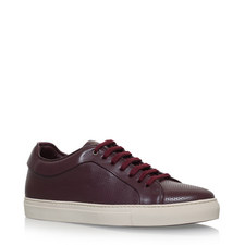 Basso Perforated Leather Trainers