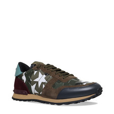 Starstudded Camouflage Trainers