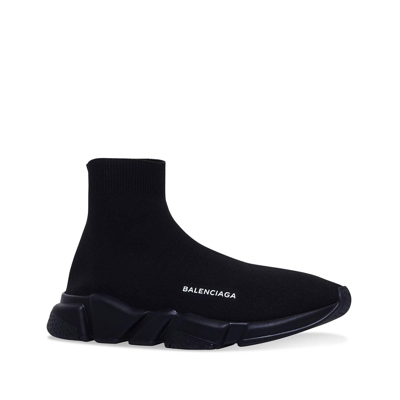 nuevo estilo zapatos genuinos zapatos de otoño BALENCIAGA Speed Woven Mid-Top Trainers