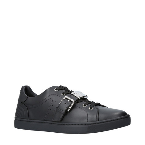London Leather Strap Trainers, ${color}