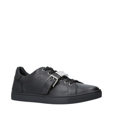 London Leather Strap Trainers