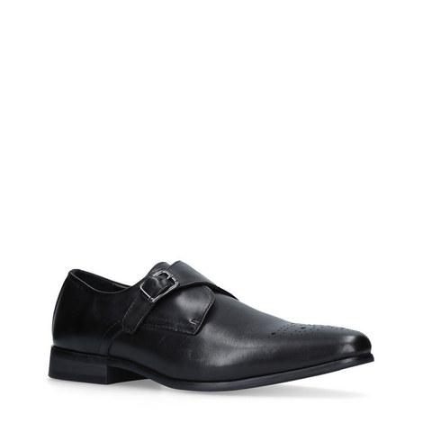 Cozy Single Strap Monk Shoes, ${color}