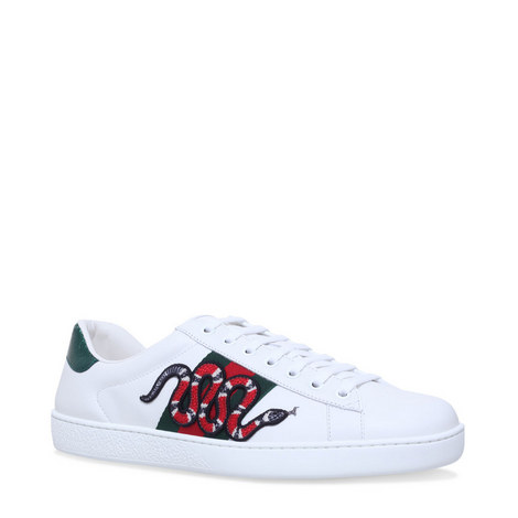 Ace Snake Webbed Trainers, ${color}
