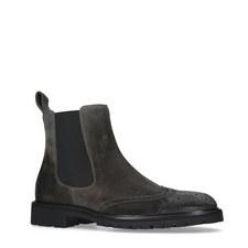 Lancaster Wingcap Chelsea Boots