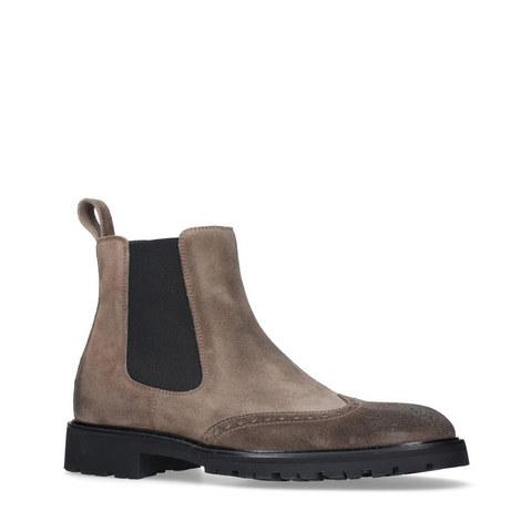 Lancaster Wingcap Chelsea Boots, ${color}