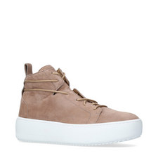 Wedge High Top Trainers