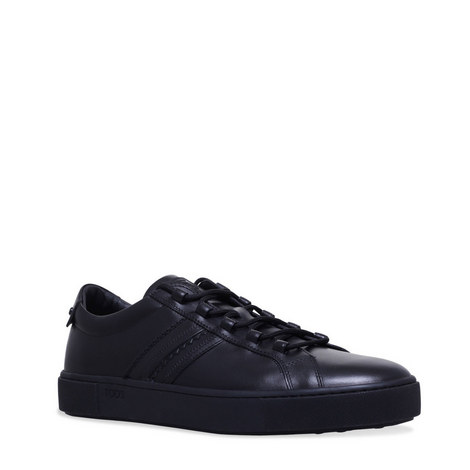 Cassetta Leather Trainers, ${color}