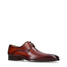 Medallion Derby Shoes