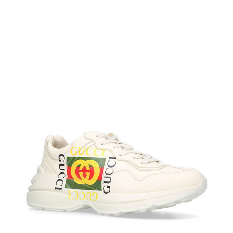 Rhyton Logo Trainers, ${color}