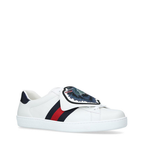 New Ace Wolf Patch Trainers, ${color}