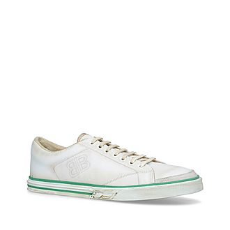 Match Leather Trainers