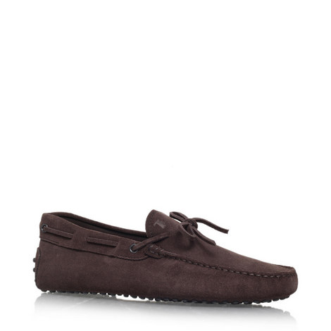 Gommino Suede Driving Shoes, ${color}