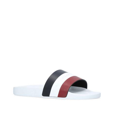 807412066087 MONCLER Basile Stripe Logo Slides