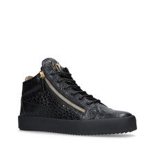 7ab1be554370 GIUSEPPE ZANOTTI Snake Print Low Top Trainers €550.00 · Kriss Croc-Embossed  Mid Top Trainers