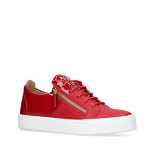 Patent Low Top Trainers