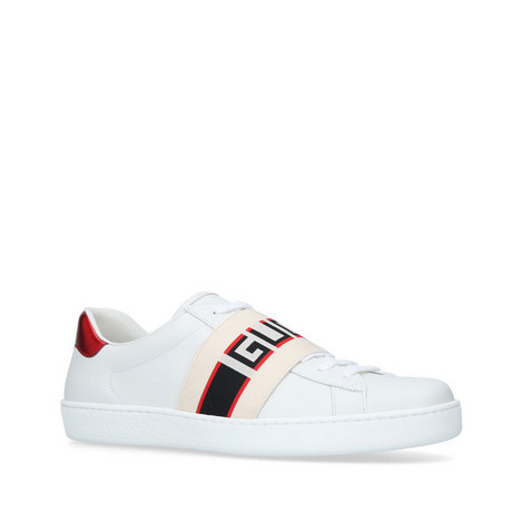 Elastic New Ace Trainers, ${color}