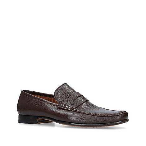Sorrento Leather Loafers, ${color}
