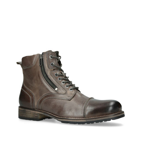 Buxton Leather Biker Boots, ${color}