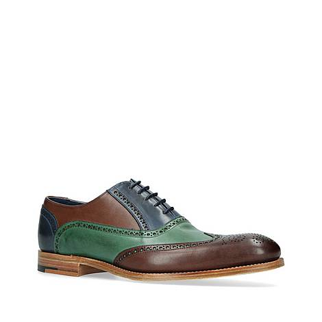 Valiant Tri-Tone Oxford Brogues, ${color}