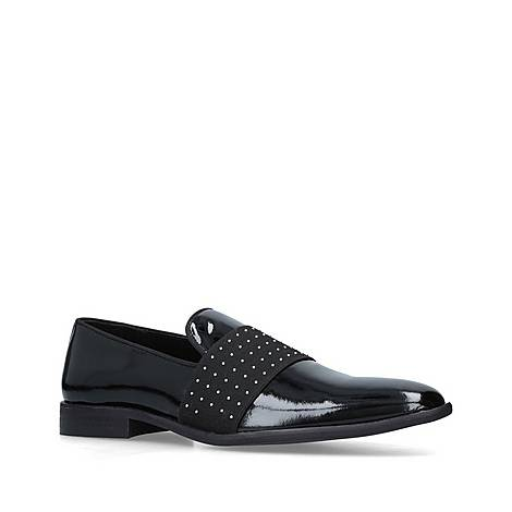 Scott Leather Studded Loafers, ${color}