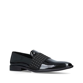 Scott Leather Studded Loafers