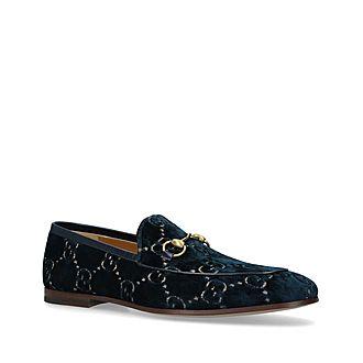 Jordan Velvet GG Loafers