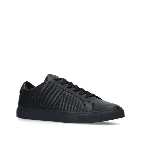 Donnie Quilted Trainers, ${color}