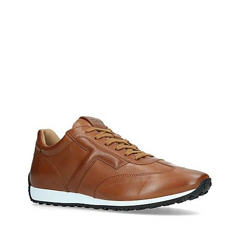 Leather T Trainers, ${color}