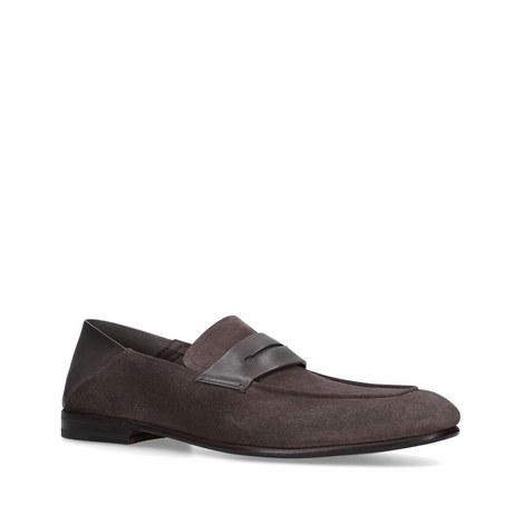 Asola Suede Loafers, ${color}