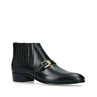 G Brogue Ankle Boots