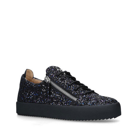 Glitter Low Top Trainers, ${color}