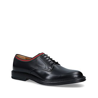 Beyond Web Trim Derby Shoes