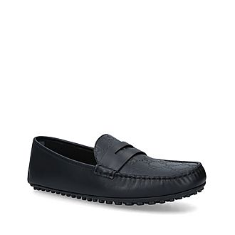 Kanye GG Print Driver Shoes