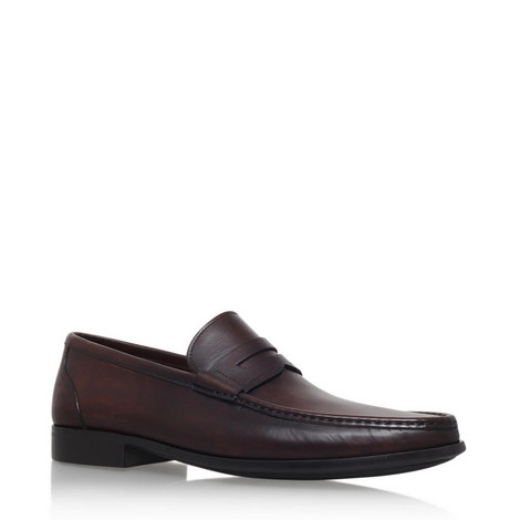 Leather Penny Loafers, ${color}