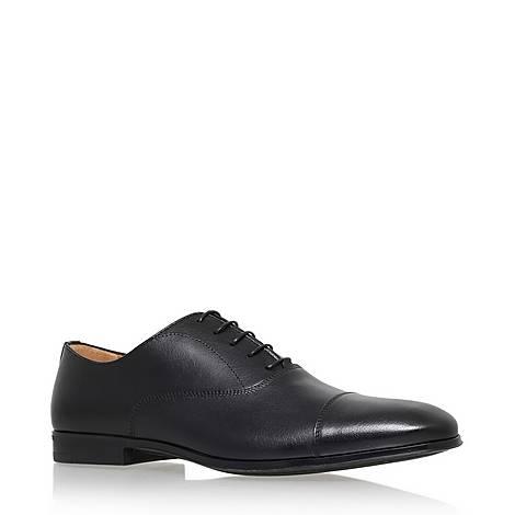 Toecap Leather Oxford Shoes, ${color}