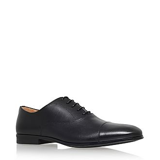 Toecap Leather Oxford Shoes