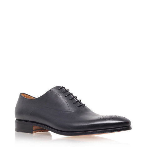 Chisel Punch Oxford Shoes, ${color}