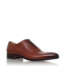 Chisel Punch Oxford Shoes