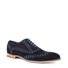 Grant Wing Cap Derby Shoes