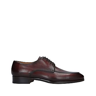 Burnished Derby Shoes