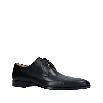 Toe Cap Derby Shoes